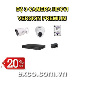 EXCO TECH BỘ CAMERA HDCVI 3C(PREMIUM)