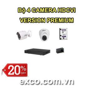 EXCO TECH BỘ CAMERA HDCVI 4C(PREMIUM)