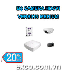 EXCO TECH BỘ CAMERA HDCVI_B(MEDIUM)