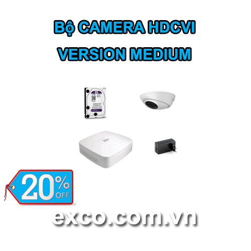 EXCO TECH BỘ CAMERA HDCVI_B(MEDIUM)