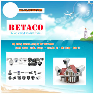 EXCO TECH CAMERA BETACO