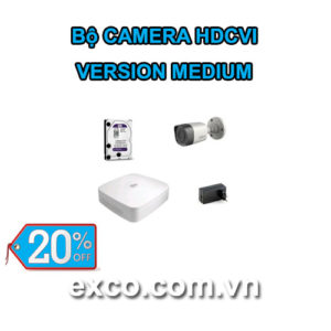 EXCO TECH BỘ CAMERA HDCVI_A(MEDIUM)